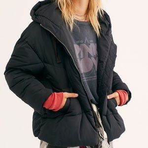 Free People Hailey Puffer Coat Size Large
